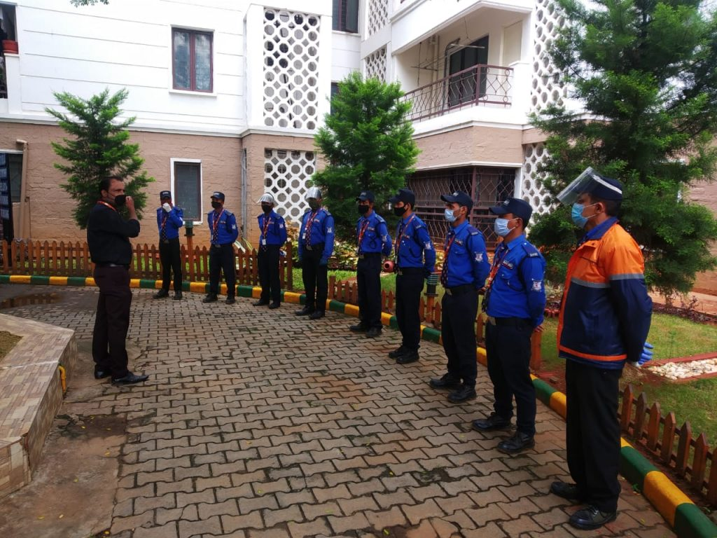 Security guards training 6