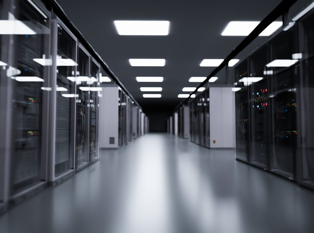 server room, data center 1